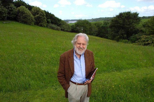 David at his home in West Cork