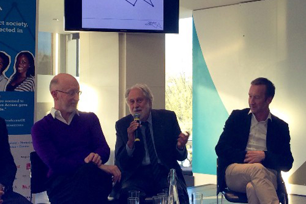 Lord Puttnam at Creative Access Masterclass
