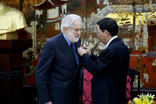 Lord Puttnam in Vietnam 2015
