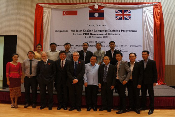 Opening ceremony UK Singaporean ELT programme