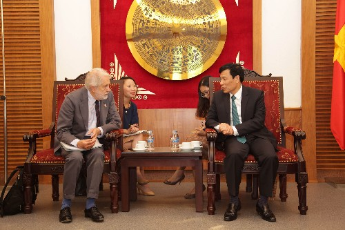 Meeting with Minister of Culture, Sports and Tourism- Vietnam 2016