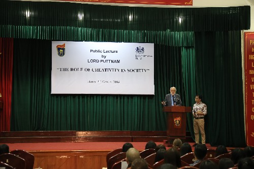 Lord Puttnam speech at University of Social Sciences and Humanities-Vietnam 2016