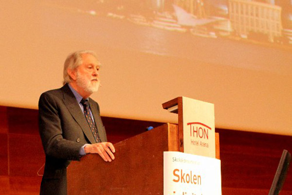 David Puttnam at Education Conference, Oslo, November 14, 2013