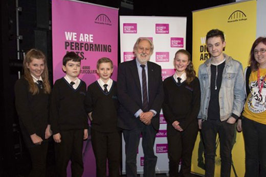Lord Puttnam at Newcastle College