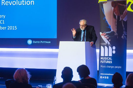 David Puttnam at Musical Learning Revolution