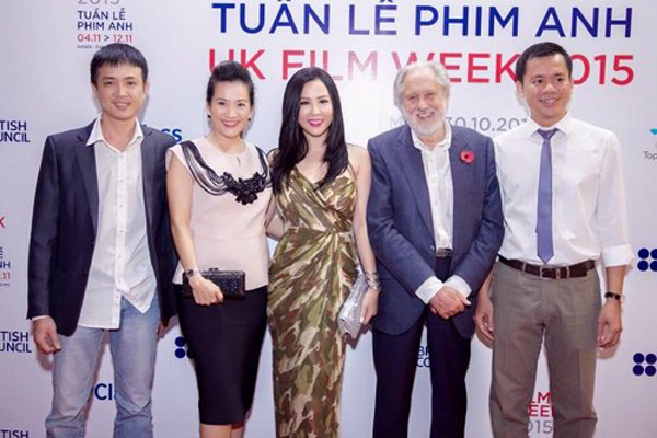 David Puttnam at UK Film Week 2015 in Vietnam