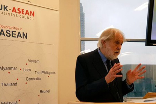 Lord Puttnam at the ASEAN seminar