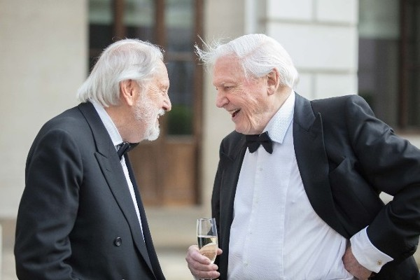Lord Puttnam and Sir David Attenborough