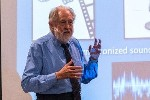 David Puttnam at LaSalle College, Singapore