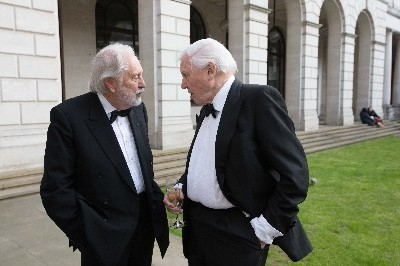 Lord Puttnam attends OU 50th Birthday Celebrations