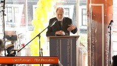 David Puttnam at FDA100 celebrating a centenary of UK film distribution