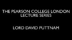 The Pearson College London Lecture Series - Lord Puttnam