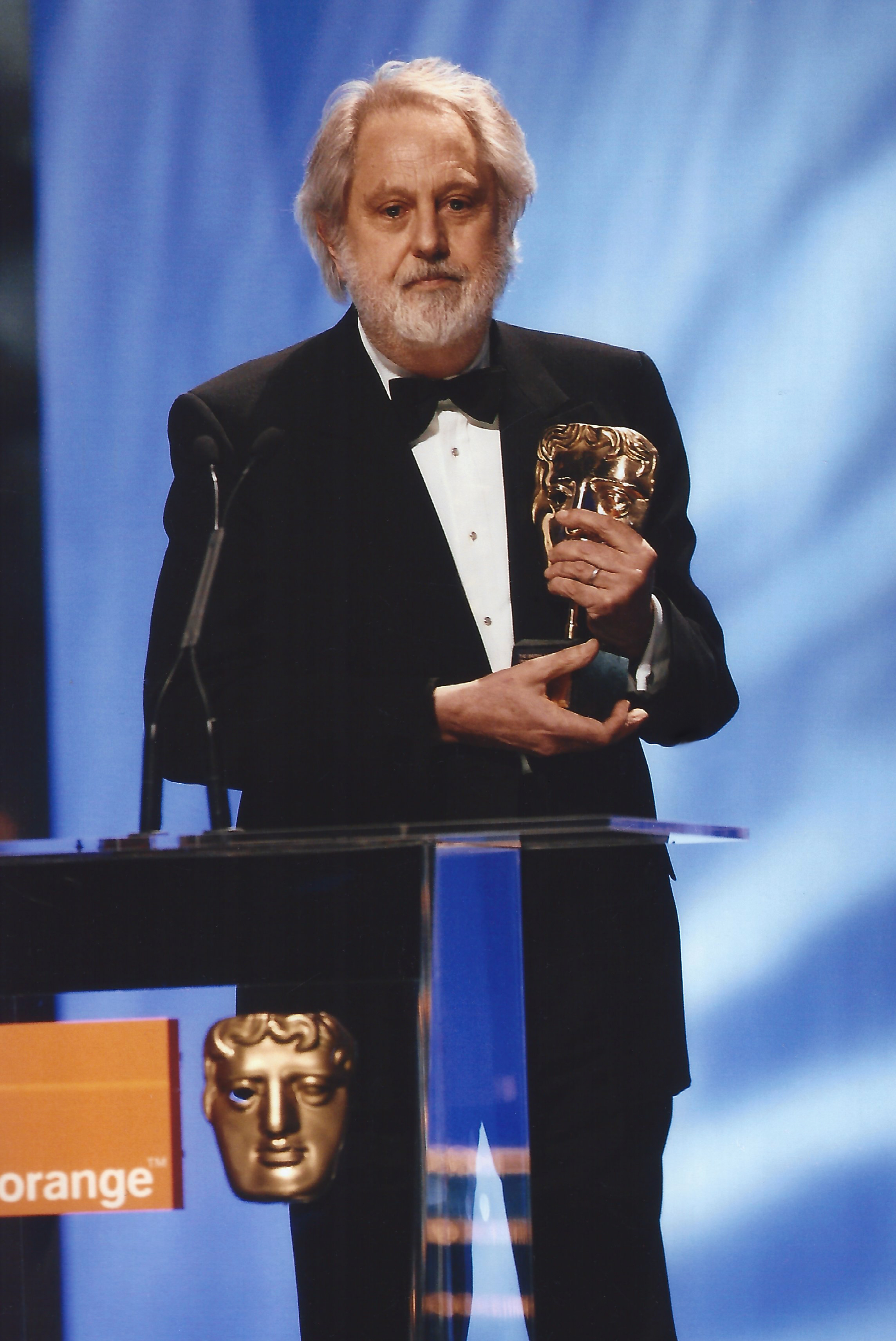 Lord Puttnam receiving BAFTA fellowship, 2006