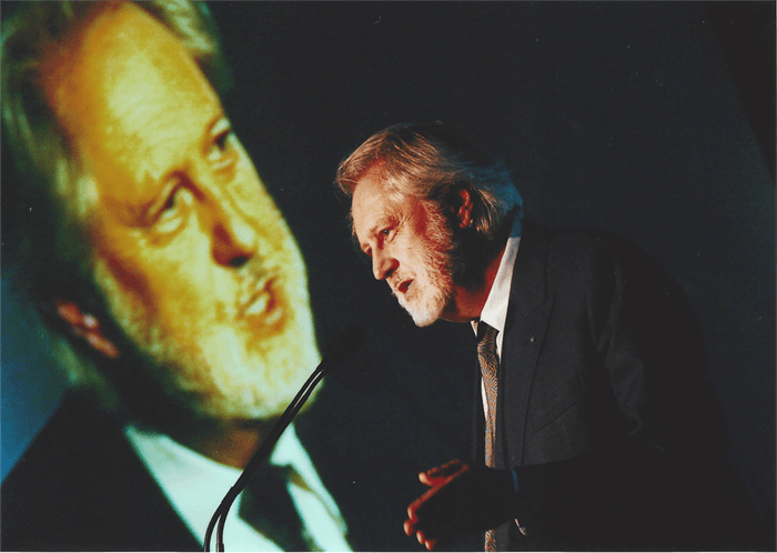 Lord Puttnam speaking at The National Teaching Awards