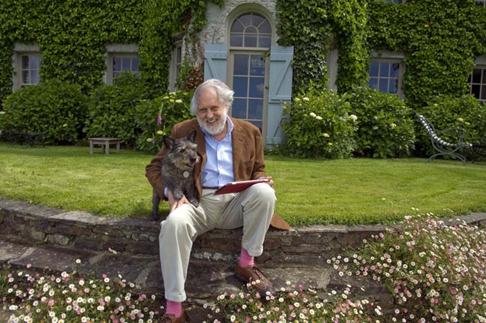Lord Puttnam at home in Ireland