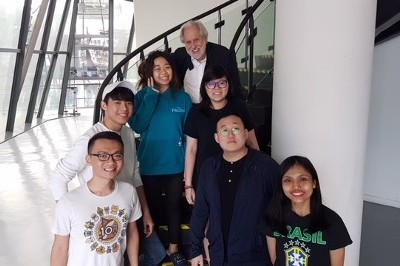 Lord Puttnam visits Singapore & Hong Kong