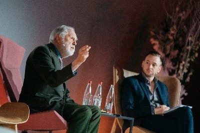 Lord Puttnam delivers keynote address on European audiovisual sector