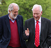 David Puttnam at 'The Meaning of Life' by Gary Byrne