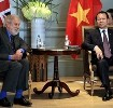 Trade Envoy, Lord Puttnam meets with Vietnam's Deputy Prime Minister