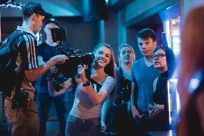 Screen legends provide a platform for young filmmakers