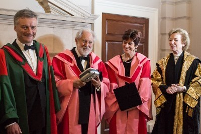 David Puttnam Receives Honorary Doctorate from Trinity College Dublin