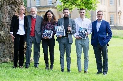 Lord Puttnam awards bursaries to Bath Spa University students