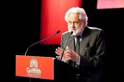 Cinema great delivers public lecture at Griffith