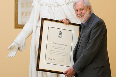 Lord Puttnam honoured by RDS