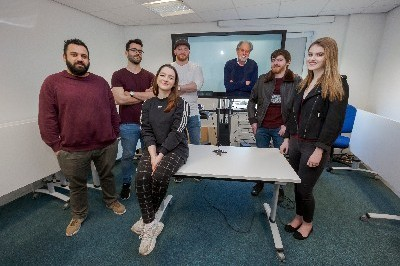 Students selected for Lord Puttnam's mentoring scheme